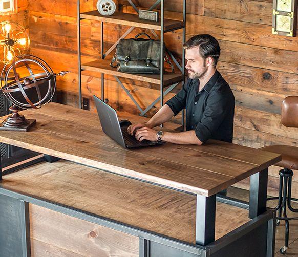 vintage standing desk